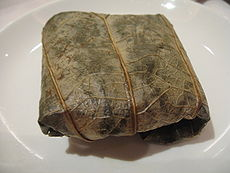 Lo Mai Gai, wrapped (Wikipedia)