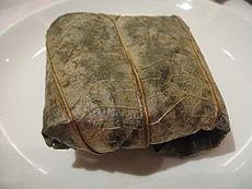 Lo Mai Gai, wrapped (Wikipedia)
